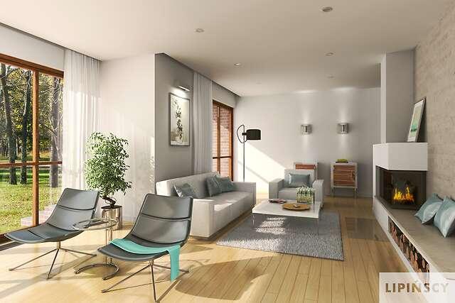 Zobacz powiększenie wizualizacji wnętrza - projekt Bari