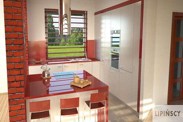 Zobacz powiększenie wizualizacji wnętrza - projekt Girona