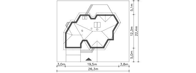 Działka - projekt Sondenberg