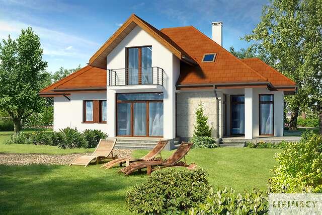Zobacz powiększenie wizualizacji ogrodowej - projekt Dijon III