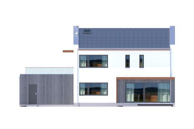 Zobacz powiększenie elewacji ogrodowej - projekt Belfast VIII