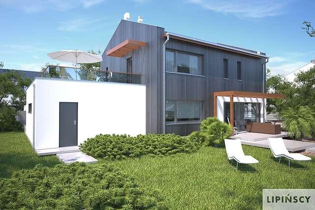 Zobacz powiększenie wizualizacji ogrodowej - projekt Belfast VIII