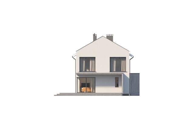 Zobacz powiększenie elewacji ogrodowej - projekt Belfast IX