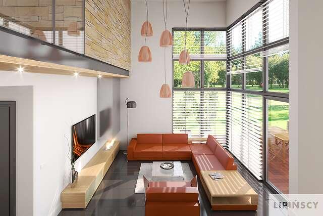 Zobacz powiększenie wizualizacji wnętrza - projekt Chester