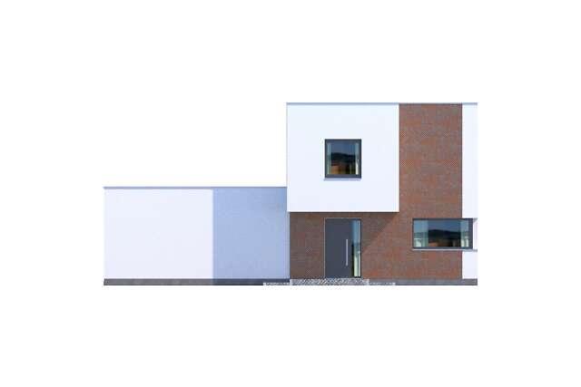 Zobacz powiększenie elewacji frontowej - projekt Delft IV