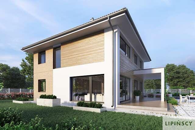 Zobacz powiększenie wizualizacji ogrodowej - projekt Carrara III