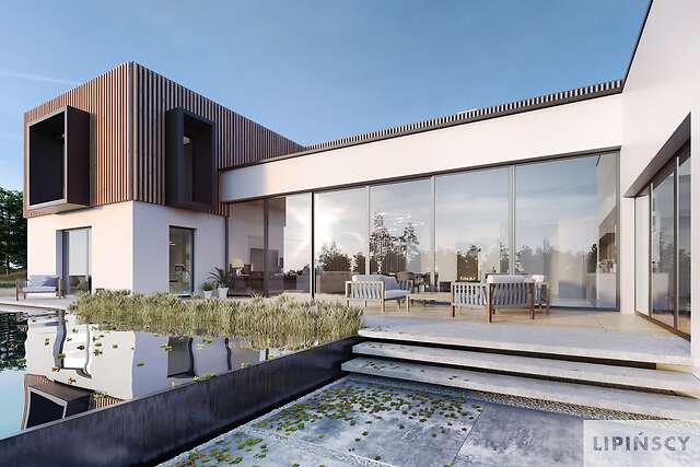 Zobacz powiększenie wizualizacji ogrodowej - projekt Annecy