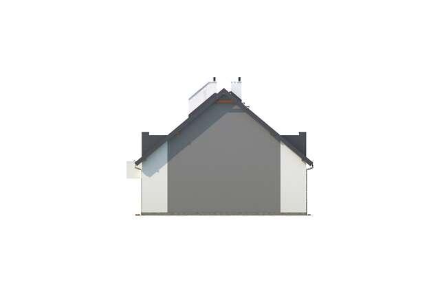 Zobacz powiększenie elewacji bocznej lewej - projekt Almere