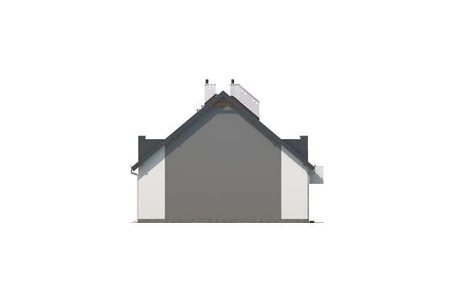 Zobacz powiększenie elewacji bocznej prawej - projekt Almere