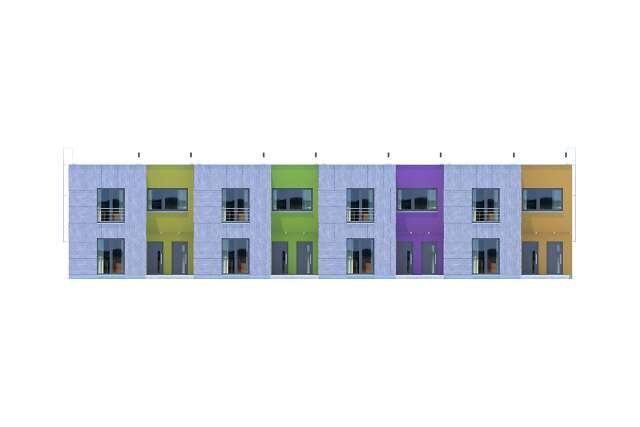 Zobacz powiększenie elewacji frontowej - projekt Springfield II