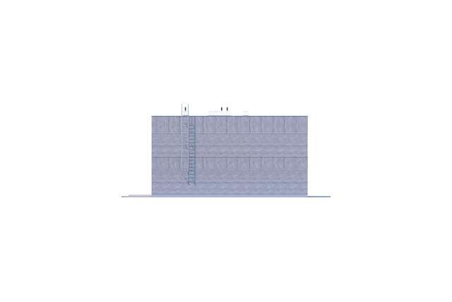 Zobacz powiększenie elewacji bocznej lewej - projekt Springfield II