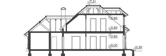 Przekrój - projekt Windsor