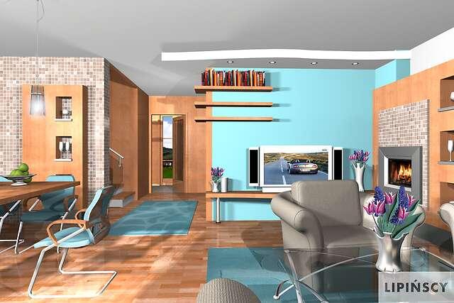 Zobacz powiększenie wizualizacji wnętrza - projekt Hannover