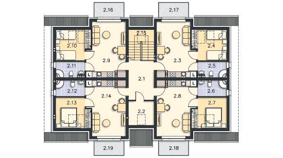 Budynek agroturystyczny Dąb 3